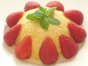 簡単ヘルシー!米粉で作ったイチゴのケーキ