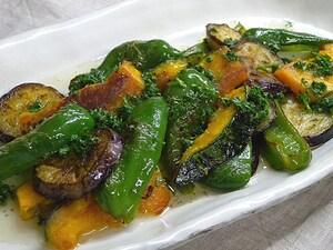 焼き野菜のサラダ・ガーリック風味