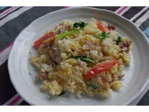 塩レモンのタイ風炒飯