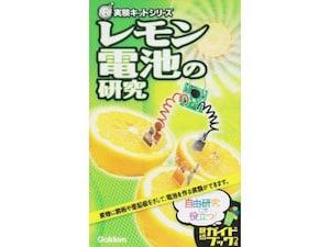 発電のしくみを体験 「レモン電池の研究 New実験キット」