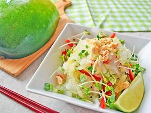 冬瓜のエスニックサラダ