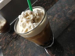 スタバ風コーヒーフラペチーノ