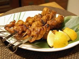 タイ風 豚肉のカレー串焼き