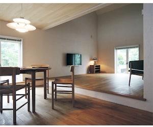 建坪16坪・つみ木のような形をした家