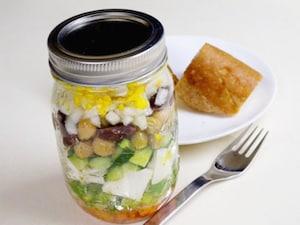 メイソンジャーで「たまごサラダ」