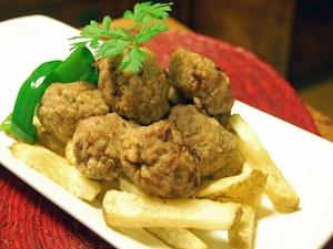 トルコ風揚げ肉団子