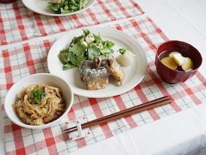 秋に美味しい! 秋刀魚の竜田揚げ定食