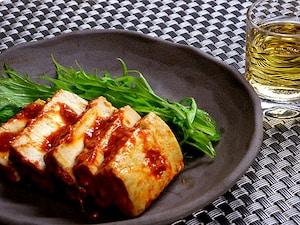 豆腐のピリ辛もろみ味噌漬け