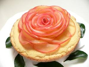 お花のチーズケーキ