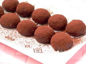 もちもちの生チョコ餅