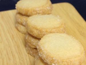 ほんのり塩気がやみつきに。塩バニラクッキー
