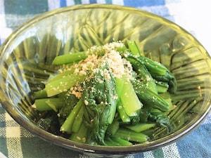 あっさり味の小松菜の昆布茶和え