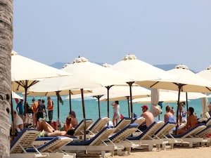 【ベトナム】ニャチャンビーチ