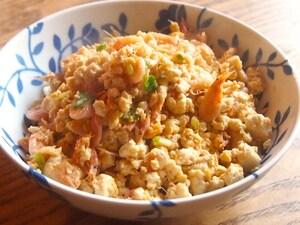桜えびの炒り豆腐