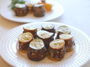 お弁当のおかずにも。ズッキーニのミニハンバーグ