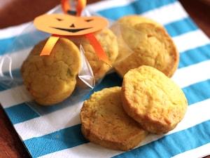 簡単かぼちゃクッキー