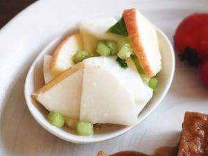 かぶとりんごの塩麹漬け