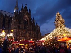 西ドイツ最大! ケルンのクリスマス市
