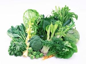 葉物野菜を生のまま冷凍してみたら?