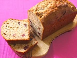 ホットケーキミックスで作るフルーツブレッド