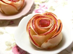 お花みたいなアップルパイ