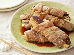 豚肉となすの肉巻き