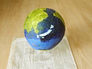 地球儀ランプシェード