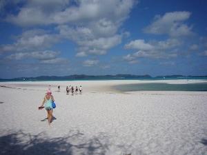 ホワイトヘブンビーチ(オーストラリア)