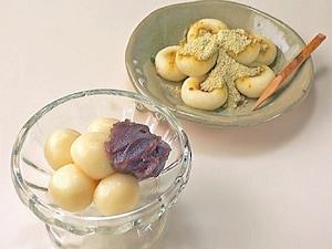 豆腐の白玉団子
