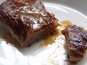 牛肉のミルフィーユステーキ