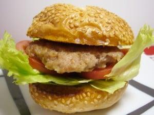 合いびき肉で作るおうちハンバーガー
