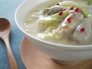 白菜と豚のクリーム煮