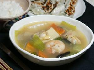 海鮮中華スープ