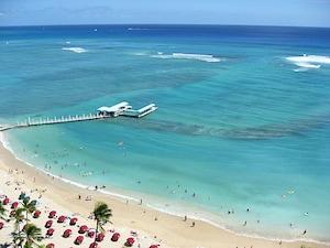 カハナモク・ビーチ(ハワイ)