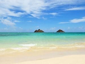 オアフ島東南部ワイマナロ・ベイ・ビーチパーク(ハワイ)