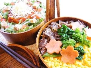 和風そぼろとタコライス風寿司