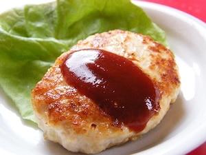 さっぱりとした鶏ハンバーグ