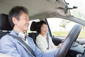 夫婦でドライブ
