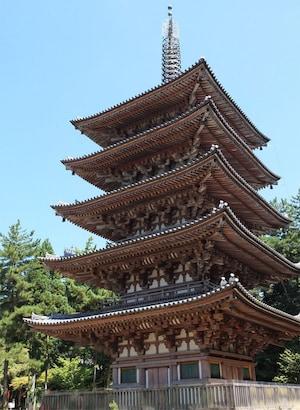 【醍醐寺五重塔】京都府で最古の建造物