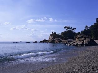 日本三大名月観賞地、高知の桂浜
