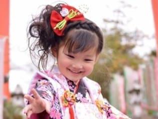 女の子の七五三の髪型・ヘアスタイル
