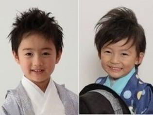 男の子の七五三の髪型・ヘアスタイル