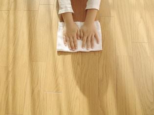 簡単にできるフローリング床掃除