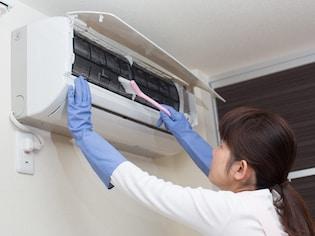 簡単にできるエアコン掃除術