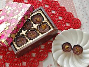 大人におすすめ、柚子ピール入りチョコレート