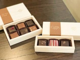 北鎌倉にオープンの新店「ショコラトリー CALVA」