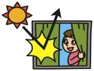 夏暑く冬寒いのは、窓に原因があるのかも