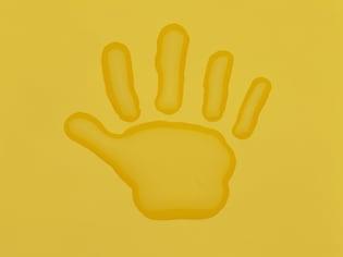 子どもといっしょに作るなら、「手形」を活かそう