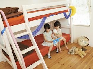 良い子が育つ子供部屋は快眠・快勉・快収納で