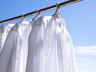 パパの白シャツもキレイ!黄ばみを真っ白にする新常識